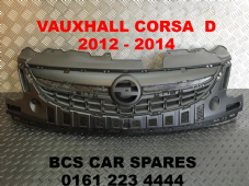 VAUXHALL CORSA  D    2012 - 2013 - 2014  FACELIFT    FRONT TOP GRILL  NEW